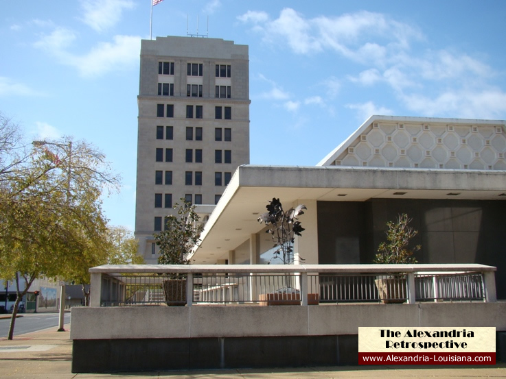 City Hall in Alexandria LA