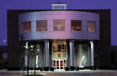 Alexandria Museum of Art in downtown Alexandria, Louisiana