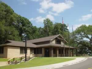 Visitor Center at the Forts Buhlow and Fort Randolph State Historic Site