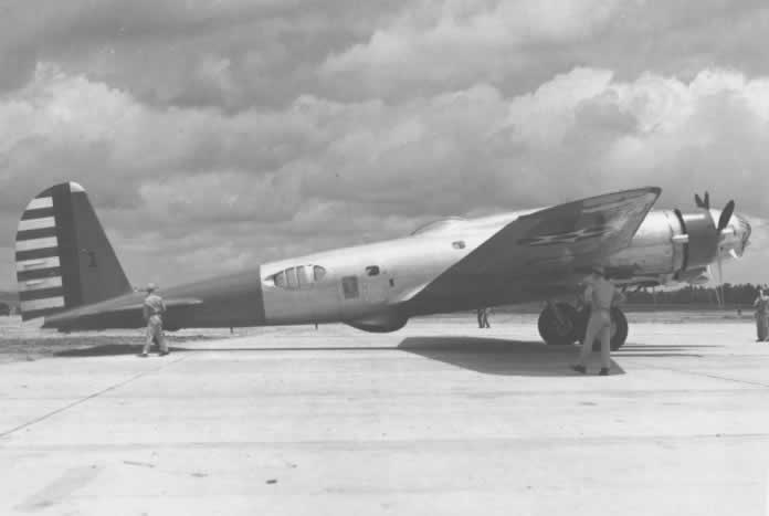 Boeing B-17B parked at Esler Field on June 11, 1941