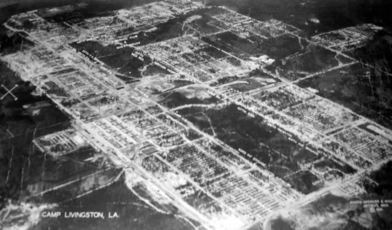Aerial Photo Of Camp Livingston Near Alexandria Louisiana In 1941