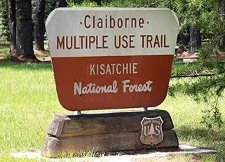 Claiborne Multiple Use Trail in Kisatchie National Forest in Louisiana