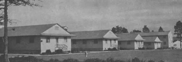 Camp Claiborne Nurses Quarters