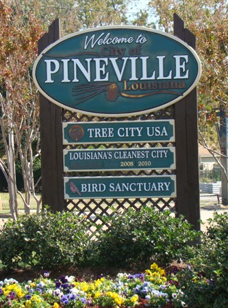 Welcome to Pineville, Louisiana